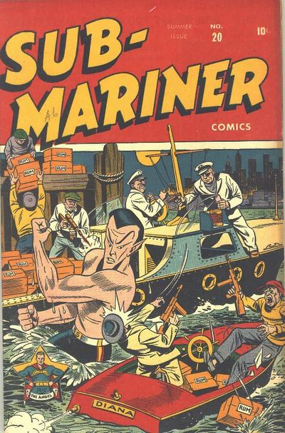 Cover for Sub-Mariner Comics (Marvel, 1941 series) #20