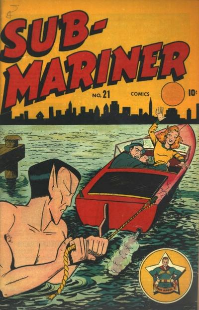 Cover for Sub-Mariner Comics (Marvel, 1941 series) #21