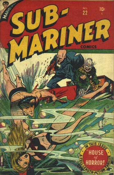 Cover for Sub-Mariner Comics (Marvel, 1941 series) #22