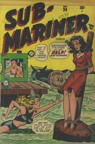 Cover for Sub-Mariner Comics (Marvel, 1941 series) #24
