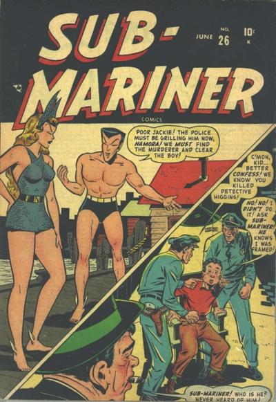 Cover for Sub-Mariner Comics (Marvel, 1941 series) #26