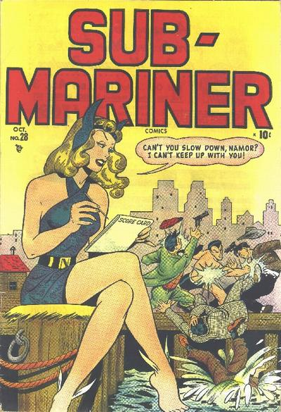 Cover for Sub-Mariner Comics (Marvel, 1941 series) #28