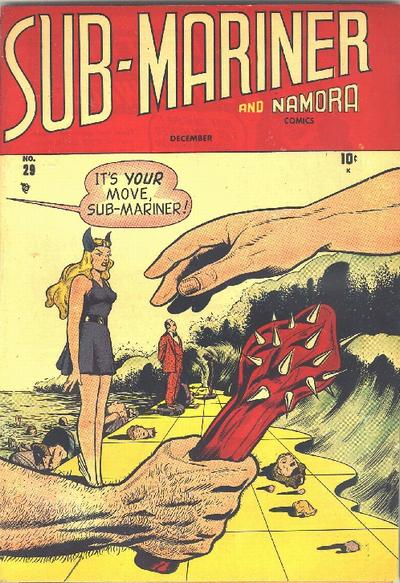 Cover for Sub-Mariner Comics (Marvel, 1941 series) #29