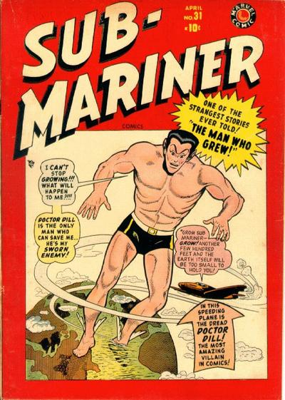 Cover for Sub-Mariner Comics (Marvel, 1941 series) #31