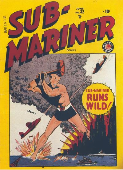 Cover for Sub-Mariner Comics (Marvel, 1941 series) #32