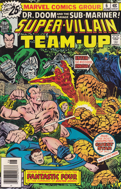 Cover for Super-Villain Team-Up (Marvel, 1975 series) #6 [British]