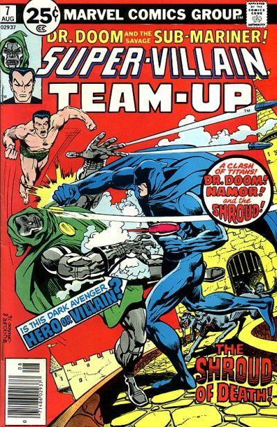 Cover for Super-Villain Team-Up (Marvel, 1975 series) #7