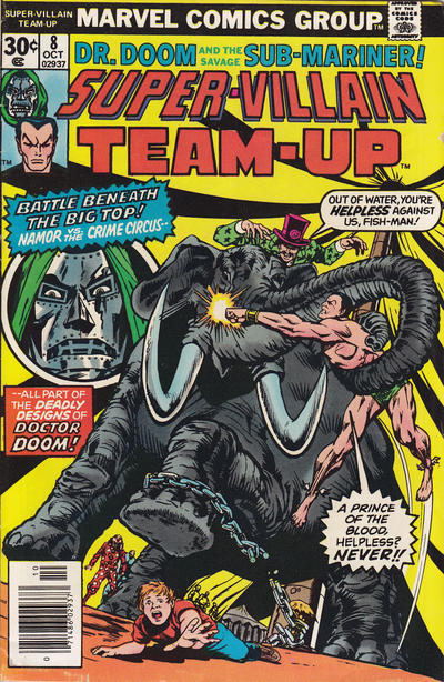 Cover for Super-Villain Team-Up (Marvel, 1975 series) #8 [British]