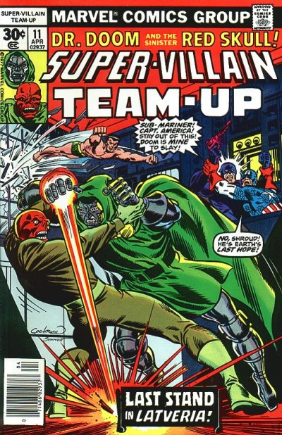 Cover for Super-Villain Team-Up (Marvel, 1975 series) #11