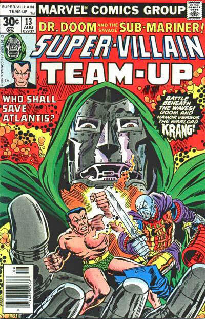 Cover for Super-Villain Team-Up (Marvel, 1975 series) #13 [30¢]