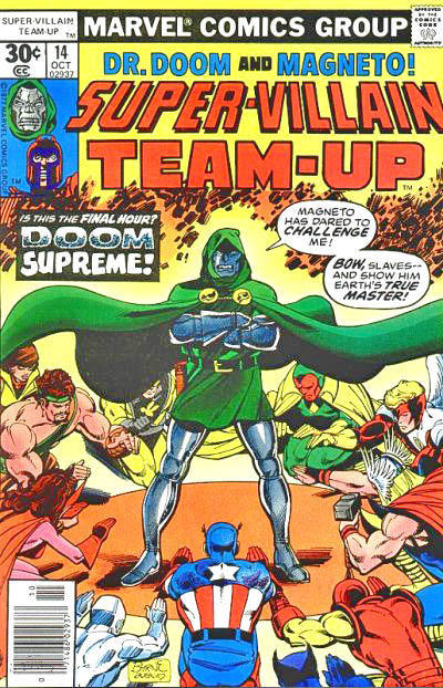 Cover for Super-Villain Team-Up (Marvel, 1975 series) #14 [30¢]