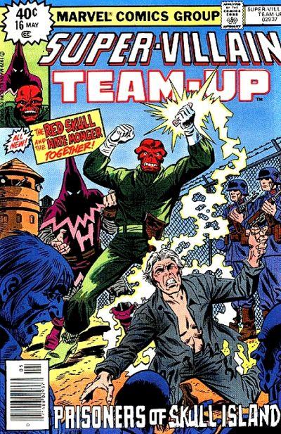 Cover for Super-Villain Team-Up (Marvel, 1975 series) #16