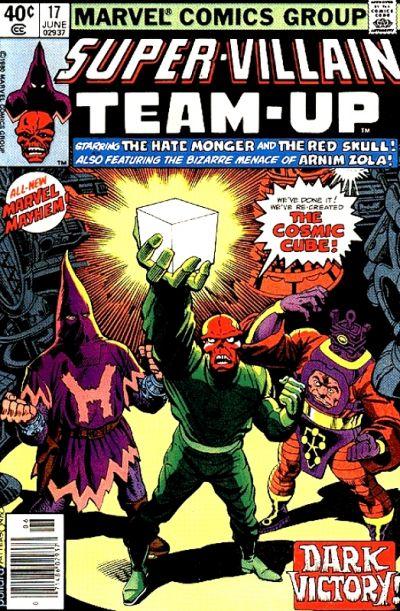 Cover for Super-Villain Team-Up (Marvel, 1975 series) #17