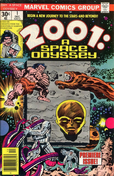 Cover for 2001: A Space Odyssey (Marvel, 1976 series) #1