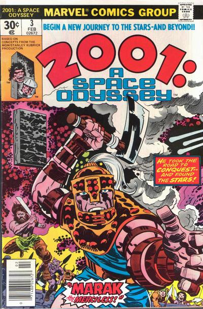 Cover for 2001, A Space Odyssey (Marvel, 1976 series) #3 [Regular Edition]
