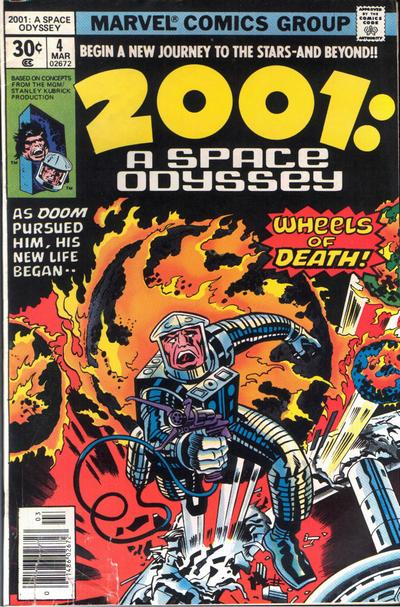 Cover for 2001: A Space Odyssey (Marvel, 1976 series) #4