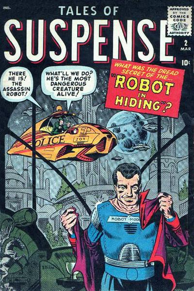 Cover for Tales of Suspense (Marvel, 1959 series) #2