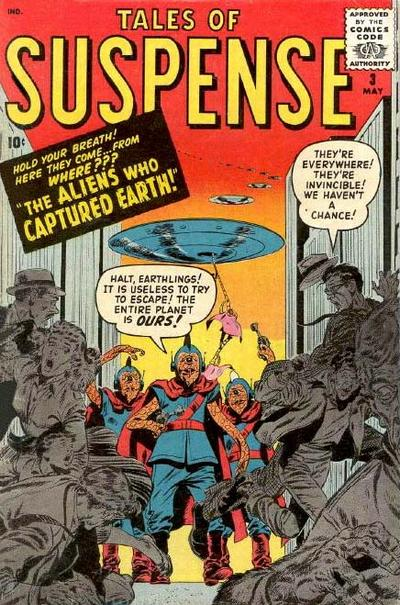 Cover for Tales of Suspense (Marvel, 1959 series) #3