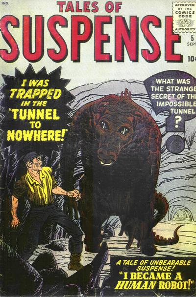 Cover for Tales of Suspense (Marvel, 1959 series) #5