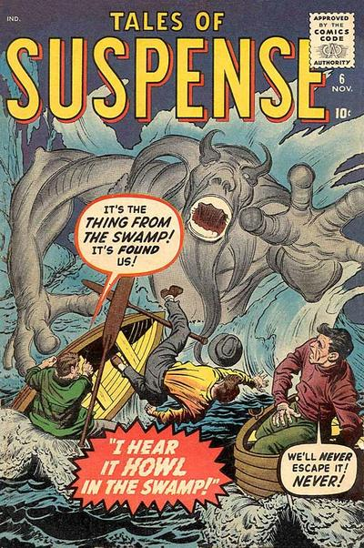 Cover for Tales of Suspense (Marvel, 1959 series) #6