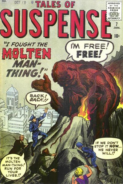 Cover for Tales of Suspense (Marvel, 1959 series) #7