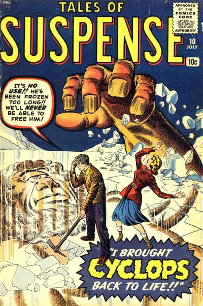 Cover for Tales of Suspense (Marvel, 1959 series) #10