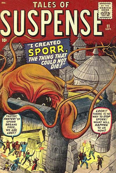 Cover for Tales of Suspense (Marvel, 1959 series) #11
