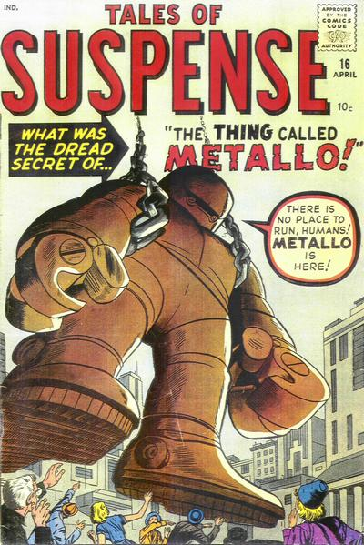 Cover for Tales of Suspense (Marvel, 1959 series) #16