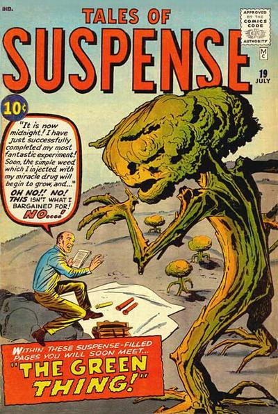 Cover for Tales of Suspense (Marvel, 1959 series) #19