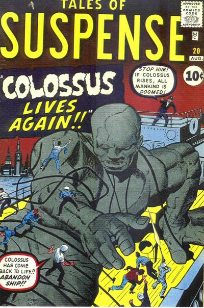 Cover for Tales of Suspense (Marvel, 1959 series) #20
