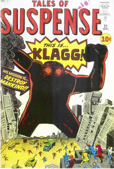 Cover for Tales of Suspense (Marvel, 1959 series) #21 [British]