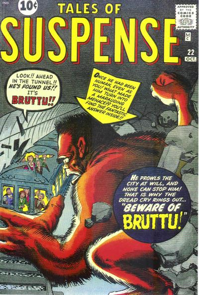 Cover for Tales of Suspense (Marvel, 1959 series) #22