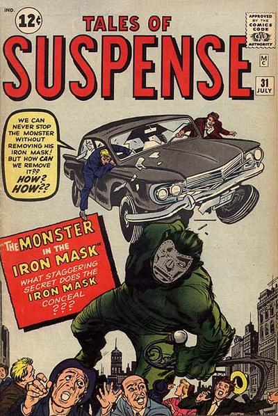 Cover for Tales of Suspense (Marvel, 1959 series) #31
