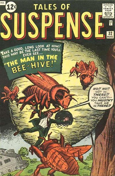 Cover for Tales of Suspense (Marvel, 1959 series) #32