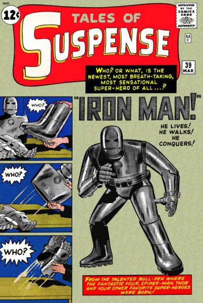 Cover for Tales of Suspense (Marvel, 1959 series) #39
