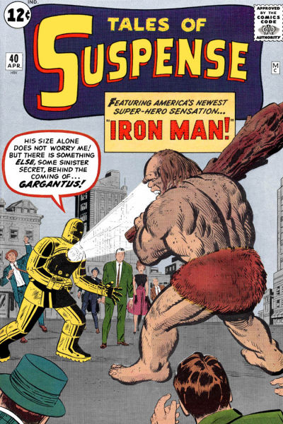 Cover for Tales of Suspense (Marvel, 1959 series) #40