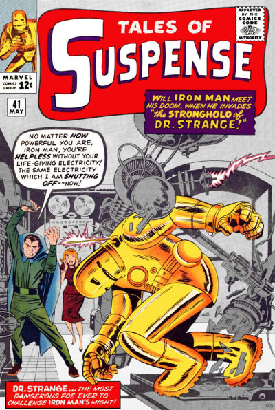 Cover for Tales of Suspense (Marvel, 1959 series) #41