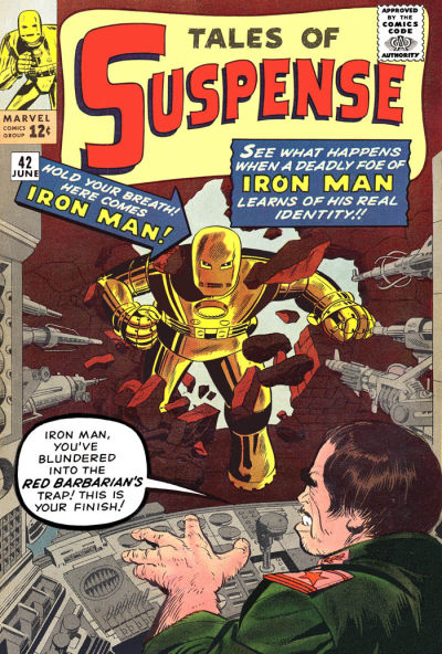 Cover for Tales of Suspense (Marvel, 1959 series) #42