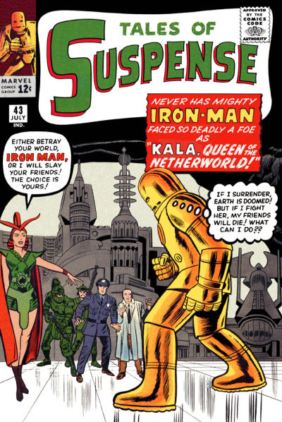 Cover for Tales of Suspense (Marvel, 1959 series) #43