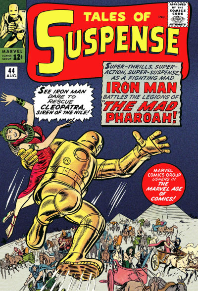 Cover for Tales of Suspense (Marvel, 1959 series) #44