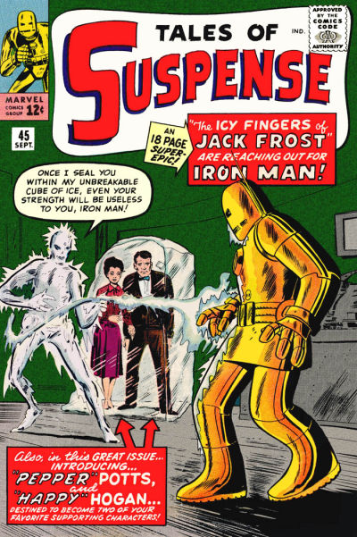 Cover for Tales of Suspense (Marvel, 1959 series) #45