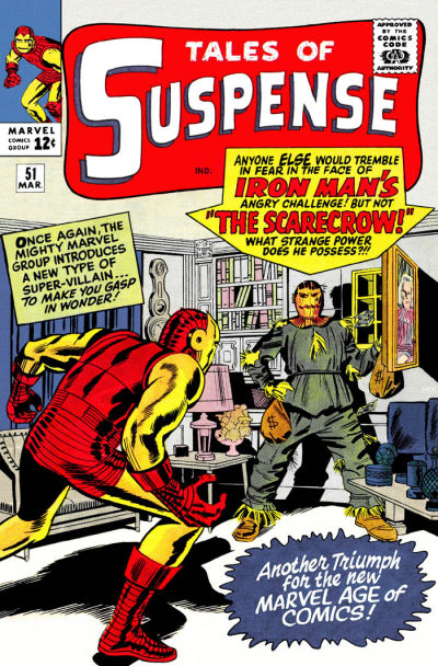Cover for Tales of Suspense (Marvel, 1959 series) #51 [Regular Edition ]