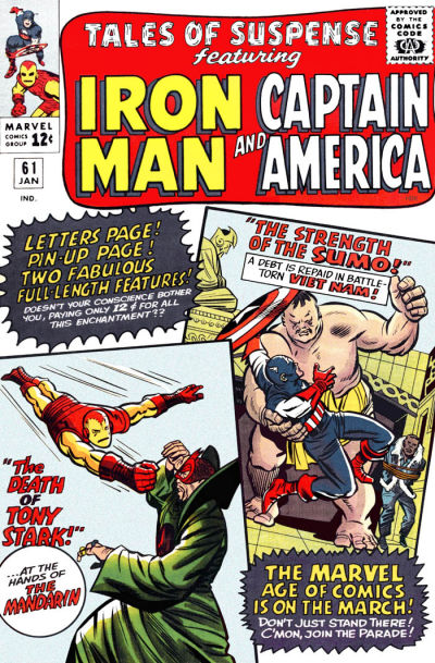 Cover for Tales of Suspense (Marvel, 1959 series) #61