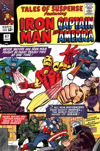 Cover for Tales of Suspense (Marvel, 1959 series) #67