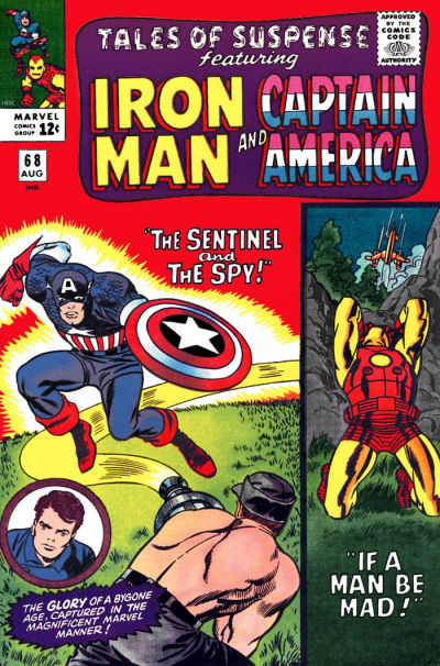 Cover for Tales of Suspense (Marvel, 1959 series) #68