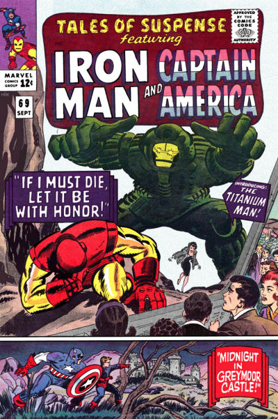 Cover for Tales of Suspense (Marvel, 1959 series) #69