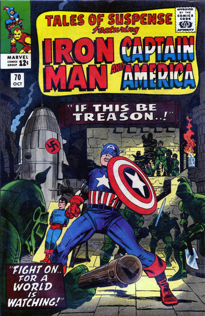 Cover for Tales of Suspense (Marvel, 1959 series) #70