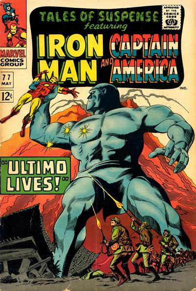 Cover for Tales of Suspense (Marvel, 1959 series) #77