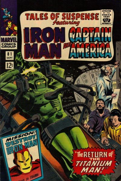 Cover for Tales of Suspense (Marvel, 1959 series) #81 [Regular Edition]