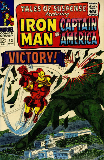 Cover for Tales of Suspense (Marvel, 1959 series) #83 [Regular Edition]